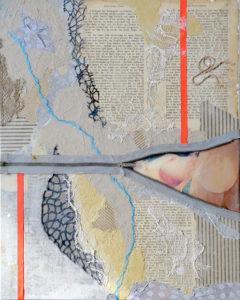 Collagebilleder på lærred